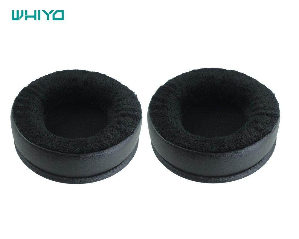 84c550ca35a 65x52MM Velour cushioned replacement ear pads earpads cover pillow for  headphonesPHP1058. PHP 1.058
