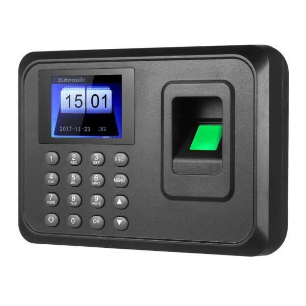 2.4  TFT LCD Display USB Biometric Fingerprint Attendance Machine DC 5V/1A Time Clock Recorder Employee Checking-in Reader Spanish Version