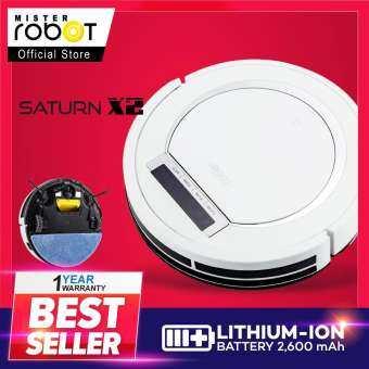 Mister Robot หุ่นยนต์ดูดฝุ่น รุ่น SATURN X2 (สีขาว)-