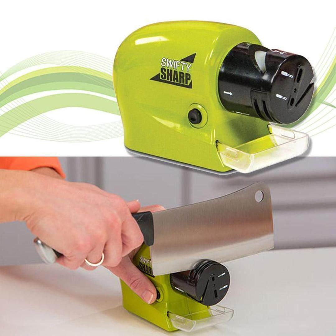 Swifty Sharp ที่ลับมีดไฟฟ้า ใช้สำหรับลับมีด ลับกรรไกร อุปกรณ์ของมีคมต่างๆ By Expert_service.