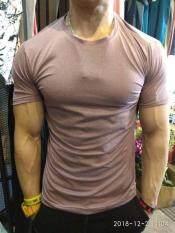 เสื้อกีฬาคอกลม ผ้าดรายฟิต ทรงรัดรูป Musculo Dry fit T
