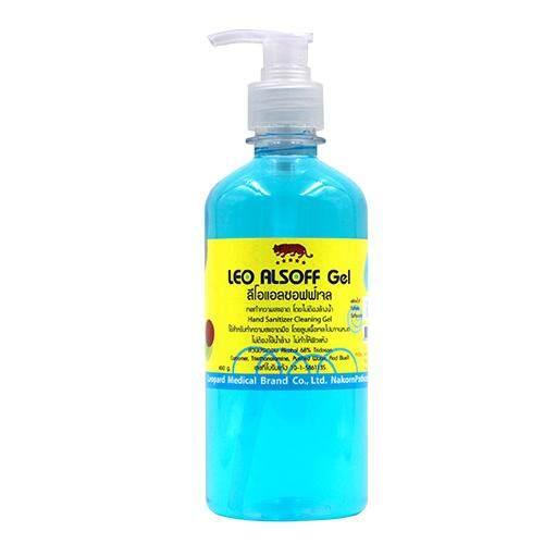 แอลกอฮอล์เจลสำหรับล้างมือ450ml (5ขวด)