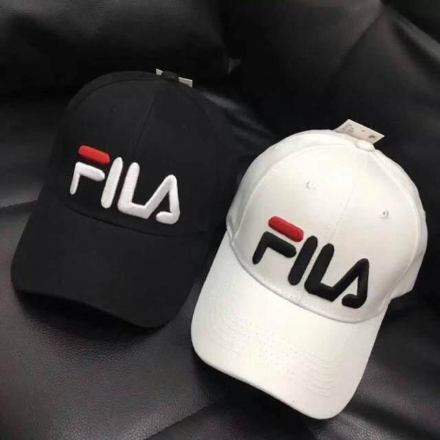 หมวกฟีล่าลายปัก งานคุณภาพดี (ลายใหม่) พร้อมส่งไม่ต้องรอพรีออเดอร์✨ By Sos Shop.