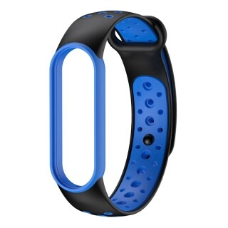 TPU Strap Suitable for Xiaomi Mi Band 5NFC Two-Tone TPU Wristband Suitable for XiaoMi Band 5 thumbnail