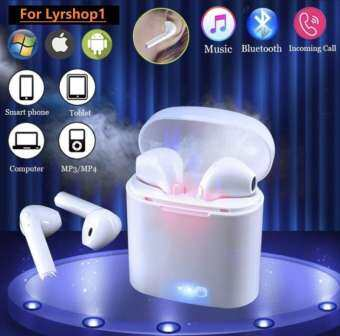 i7S TWS Afans Bluetooth 4.2 Mini Wireless Bluetooth พร้อมกล่องชารจ์ หูฟัง บลูทูธ 2 ข้าง Sterio Wireless Music Bluetooth Earphone 4.2 Stereo หูฟังไร้สายแบบคู่ for iPhone & Samsung โทรศัพท์ทุกรุ่น