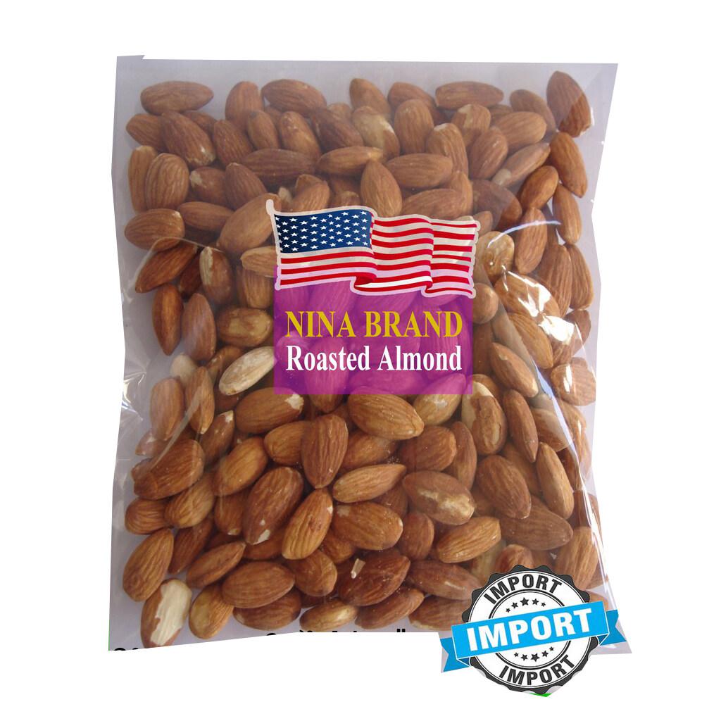 อัลมอนด์อบ พร้อมทาน (ถุง 500g) อบใหม่ๆหอมอร่อย/roasted Almond.