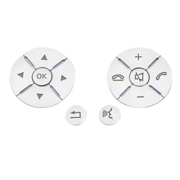 Car Interior Steering Wheel Button Switch Trim Cover Sticker for Mercedes Benz C E S Class W204 W212 W221 GLK X204 C200 C250