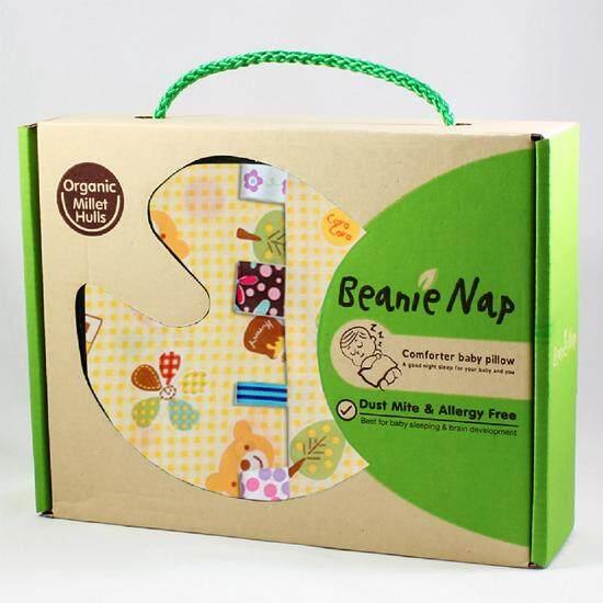 ซื้อที่ไหน หมอนกันสะดุ้ง ริบบิ้น Beanie Nap ลาย Teddy