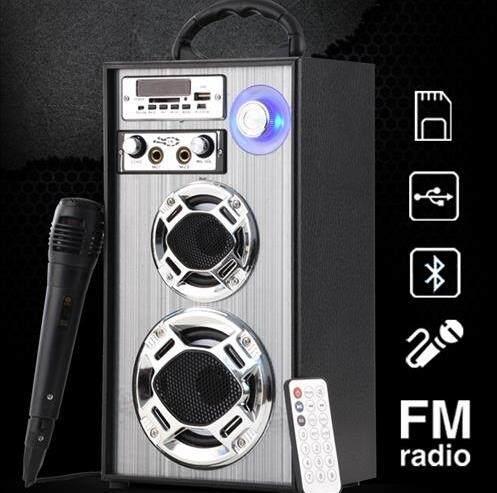 ลำโพง 2.0 Ch-Speaker พร้อมไมโครโฟน By Kp.store.