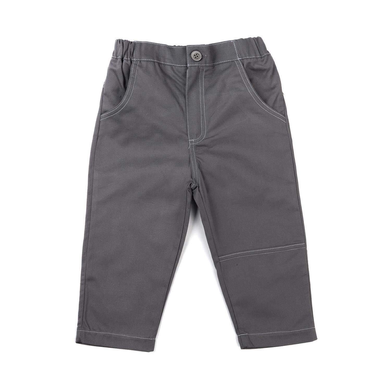 กางเกงขายาวเด็กผู้ชาย รุ่น FFT098FPEE71 สีเทา ไซส์ 2