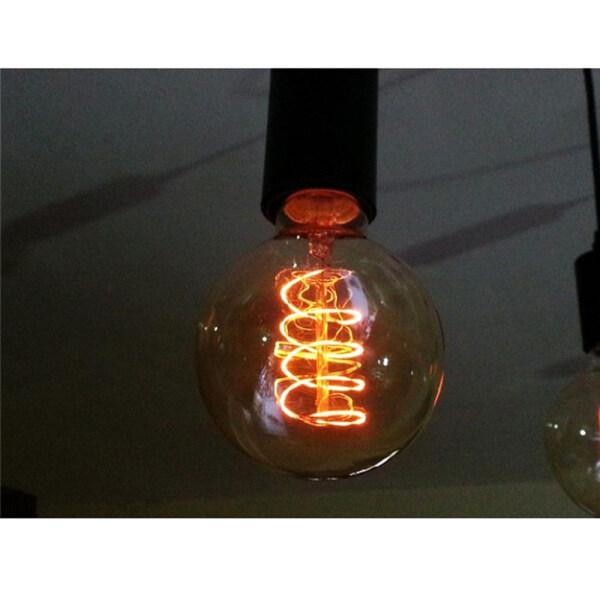 SIKOU30 1 PC 40W Screw connector Antique Incandescent Decoration Ball light Vintage Retro Bulb Filament Edison Lamp Glass