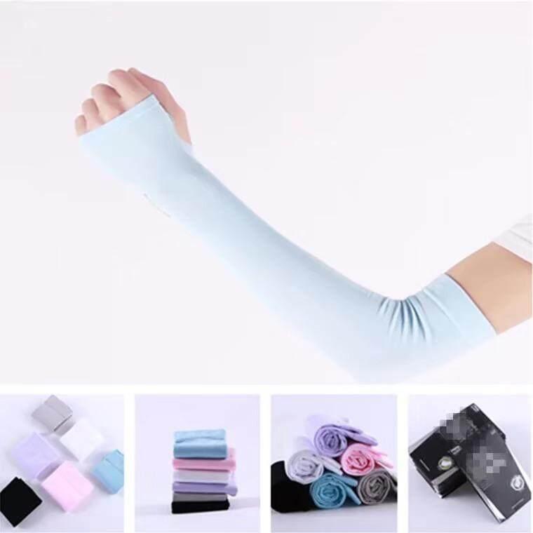 LoveIs Bra (TL-N135) ปลอกแขนผ้ายืด แบบสวมนิ้ว เนื้อนิ่มเย็นสบาย กันแสงUV