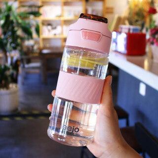 Dung Lượng Lớn Nhựa Cốc Nước Trẻ Em Cỡ Đại Vận Động Nam Chịu Nhiệt Cao Nắp Uống Trực Tiếp Miệng Bình Nước Xách Tay Rơi Học Sinh thumbnail