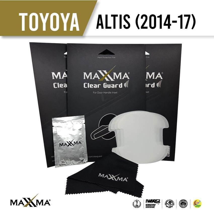 Maxxma Clear Guard ฟิล์มกันรอยเบ้าประตู Toyota Altis (2014-17) By Maxxma
