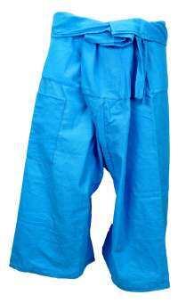 กางเกงเล กางเกงชาวเล กางเกงขาก๊วย กางเกงขาสั้น ผ้าฝ้าย ผ้าเมือง ยาว 75 ซม. ใช้เชือกผูก ผลิตจากผ้าฝ้าย สีสรรต่างๆ สดใส ใส่เล่น ใส่นอน ใส่สบายมาก-