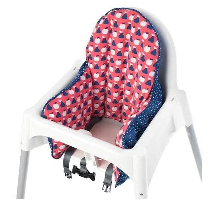 ANTILOP White Highchair with tray, silver-colour white, silver-colour+Cover, blue, red (เก้าอี้สูงพร้อมถาดวางอาหาร, สีเงิน ขาว, สีเงิน+เบาะผ้าคลุม, น้ำเงิน, แดง)