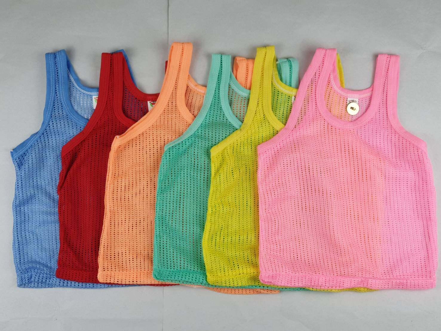 เสื้อกล้ามสำหรับเด็กแรกเกิด เด็กอ่อน เลือกสีได้ V28.