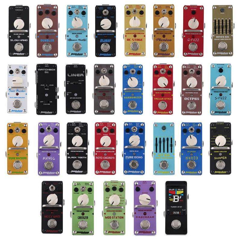 AROMA AHAR-3 Harmonizer Harmonist/Pitch Shifter Electric Guitar Effect Pedal Mini Single Effect with True Bypass Malaysia