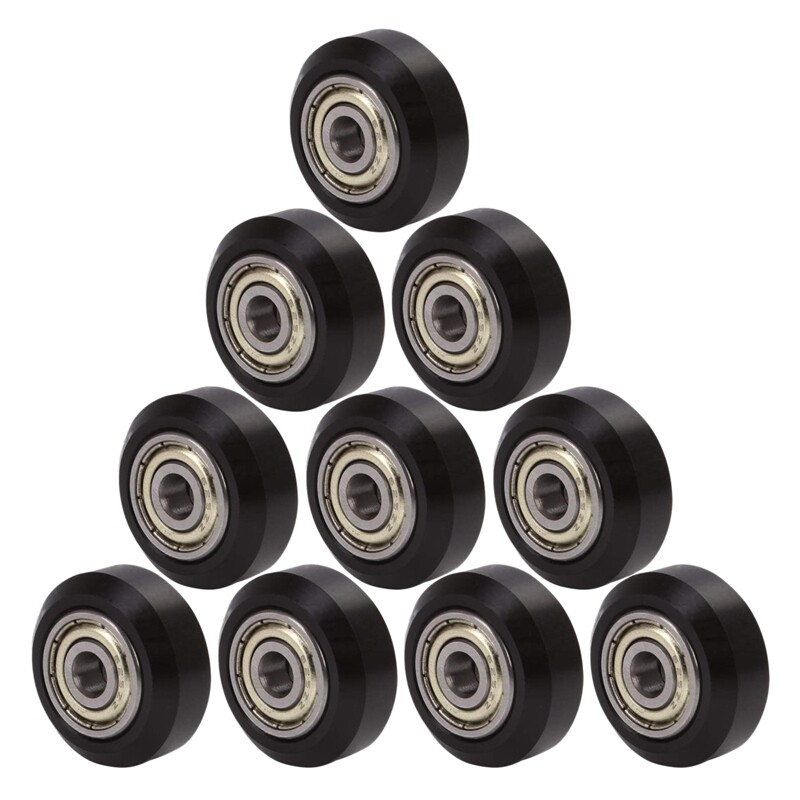 Giá 10Pcs Big Plastic Pulley Wheel with Bearing Idler Pulley Gear for 3D Printer