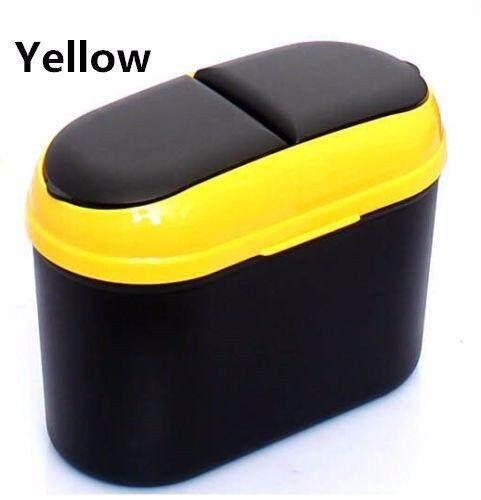 ถังขยะมินิ อุปกรณ์เสริมรถยนต์ ถังขยะสามารถใช้งานได้หลากหลาย กล่องเก็บของในรถยนต์ พกพาสะดวก มินิ ประหยัดพื้นที่ภายในรถยนต์ Bin กล่องใส่ขวดน้ำ มีที่เสียบ ขนาด18*9.5*15 Cm By Lucky Star.