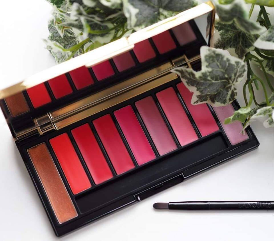 Lancome Labsolu Rouge Lip Palette Holiday Edition 2019 ลังโคม ลิป พาเลต.