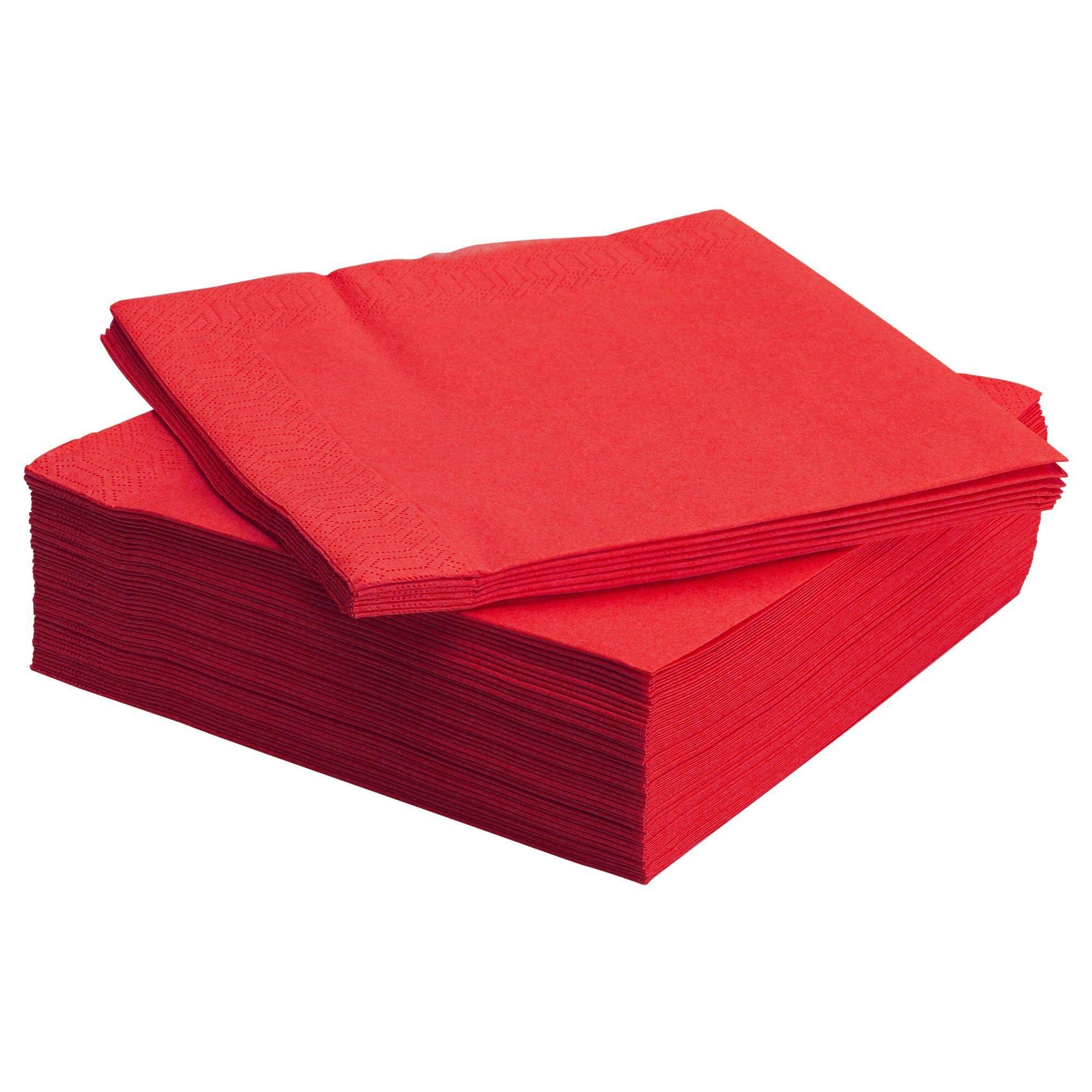 ลดราคา Fantastisk ฟันทัสติสค์ กระดาษเช็ดปาก แดง กระดาษเช็ดปากหนา 3 ชั้น จาก Ikea By Super Ikea.