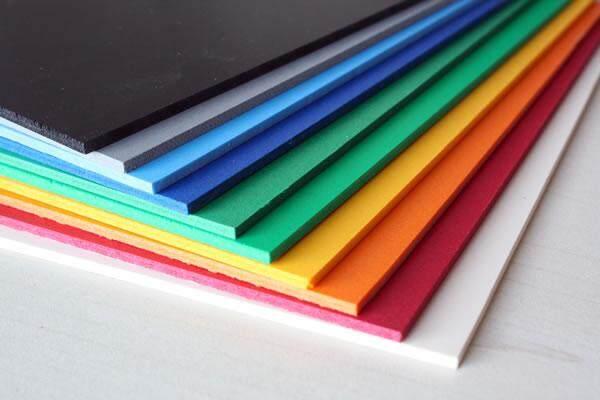 Bechoice แผ่นยางevaผิวเรียบสีสดใส 3มม. โฟมยางงานประดิษฐ์ Diy แผ่นยางกันกระแทกขนาด 1.2x2.30 เมตร หนา 3 มม..