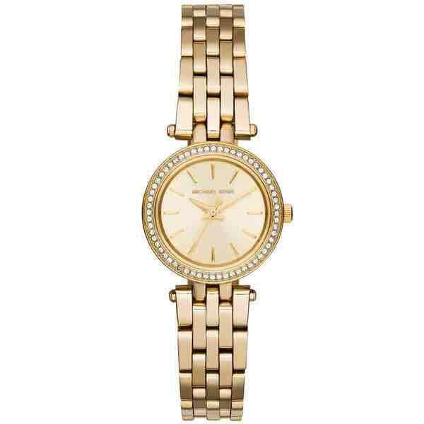 Pre Order Michael Kors Darci Petite Pavé Gold-Tone Watch By Victoria Perfumes Usa.