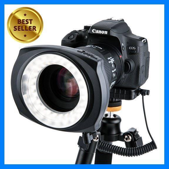 ไฟต่อเนื่องติดหน้าเลนส์ Macro Ring Lighting Jjc Led-48lr เลือก 1 ชิ้น อุปกรณ์ถ่ายภาพ กล้อง Battery ถ่าน Filters สายคล้องกล้อง Flash แบตเตอรี่ ซูม แฟลช ขาตั้ง ปรับแสง เก็บข้อมูล Memory Card เลนส์ ฟิลเตอร์ Filters Flash กระเป๋า ฟิล์ม เดินทาง.