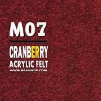 Felt-M07 ผ้าสักหลาด สองหน้า เนื้อนิ่ม (มี 3 ขนาดให้เลือก) Acrylic Felt Craft Sewing Felt Fabric