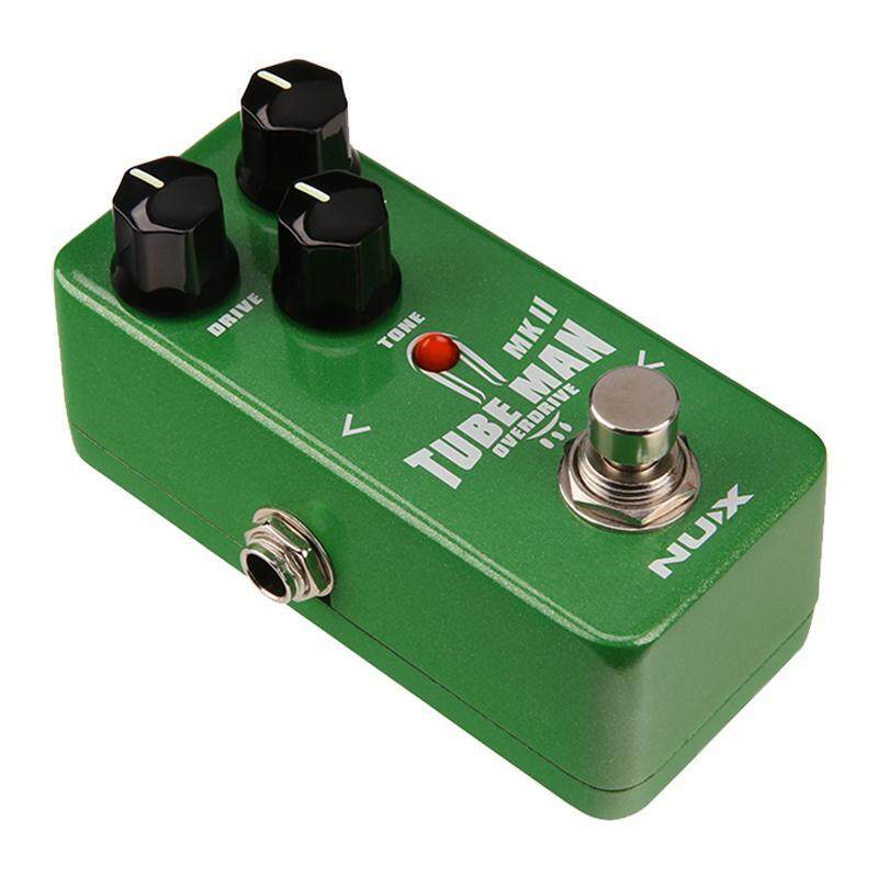 NUX Tube Man MKII Overdrive Guitar Effect Pedal Mini Core Series Stompbox with Tube-like Sound Original Tube Screamer Pedals Malaysia
