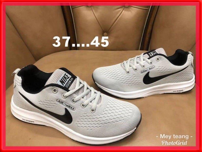 ❤️knn2019❤️พร้อมของแถม❤️ รองเท้าผ้าใบnike รองเท้าแฟชั่น Fashion รองเท้าวิ่ง รองเท้าผู้ชาย รองเท้าผู้หญิง รองเท้าออกกำลังกาย รองเท้าใส่เที่ยว น้ำหนักเบา รุ่นฮิต (สินค้าราคาถูก บริการเก็บเงินปลายทาง).