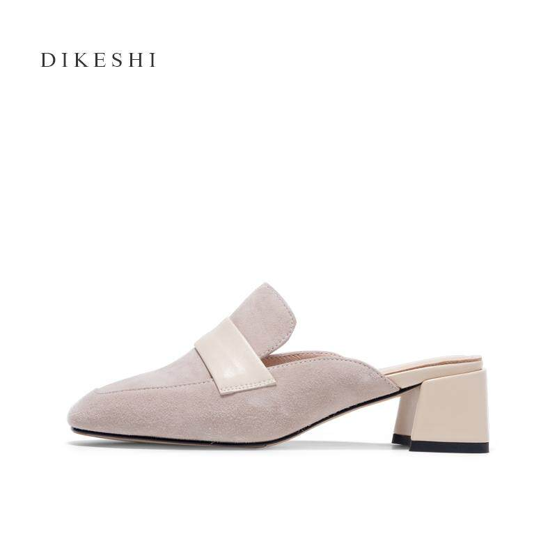 Small CK Slipper Mules Shoes High Heels