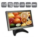 ราคา 9Final 11 6 Inch Lcd Monitor Vga Av Bnc Usb Hdmi Support Fullhd 1080P Hd Multifunctional Monitor Resolution 1366 768 เป็นต้นฉบับ