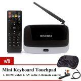 ขาย 9Final Android Tv Box Q7 Cs918 Rk3188 กล่องดูหนังออนไลน์ Android Smart Tv Box 2Gb 8 Gb ฟรี Mini Keyboard With Touch Pad สีดำ 9Final