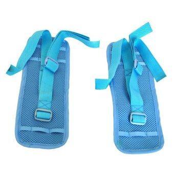a*bloom สายรัดข้อมือ ป้องกันผู้ป่วยดิ้น ขยับ Wrist Strap for Patient 1 คู่ (สีฟ้า)