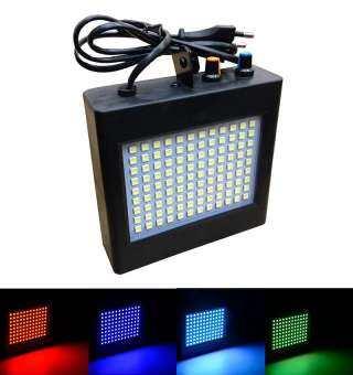 nbc ไฟแฟลช LED กระพริบ 108 หลอด แสงผสม 7 สี
