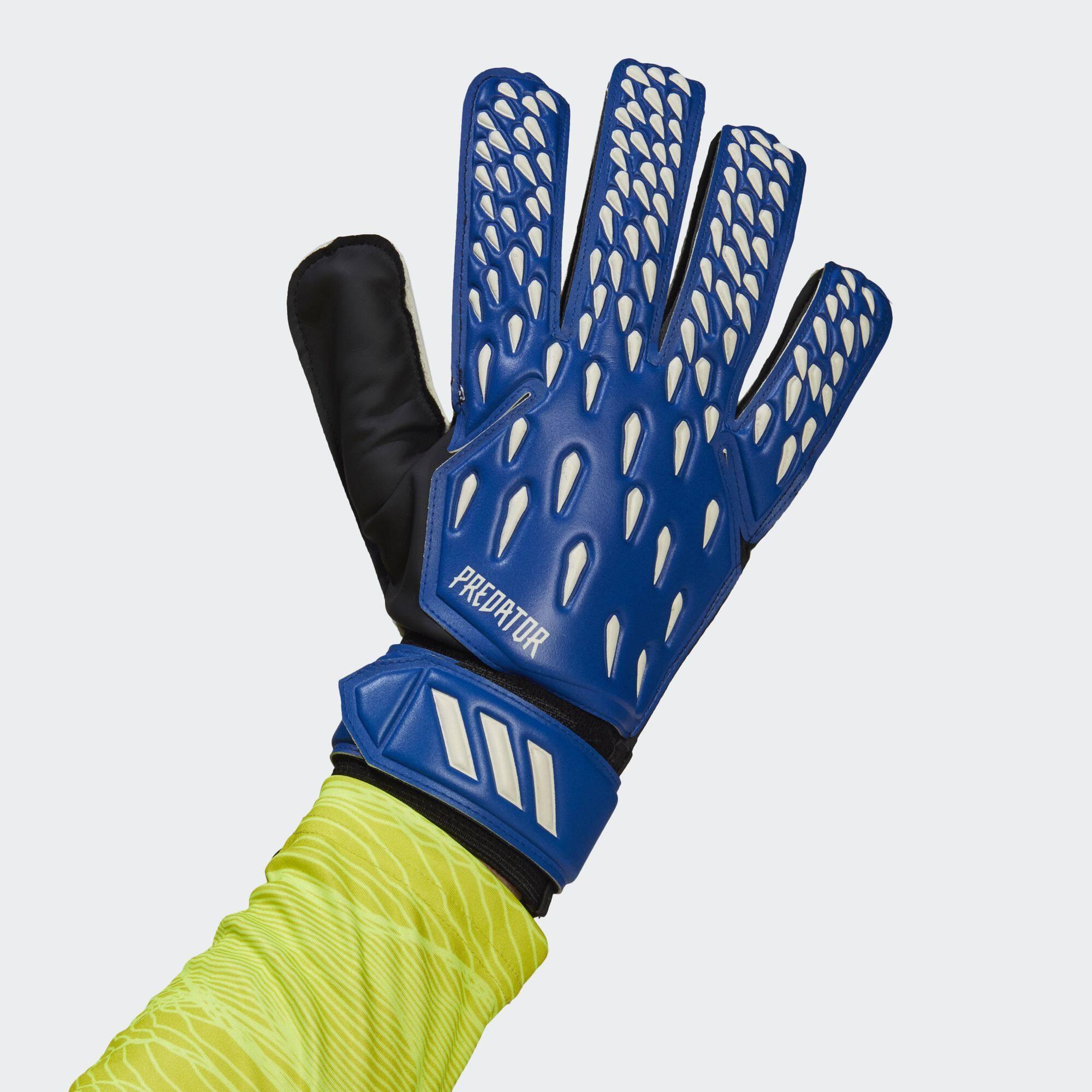 Adidas Football/soccer ถุงมือผู้รักษาประตู Predator สำหรับฝึกซ้อม ไม่ระบุเพศ Gk3524.