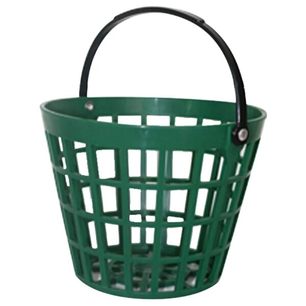 Golf Range Baskets Ball Carrying Buckets Golfball Storage Container with Handle for Outdoor Sport(25 Ball)