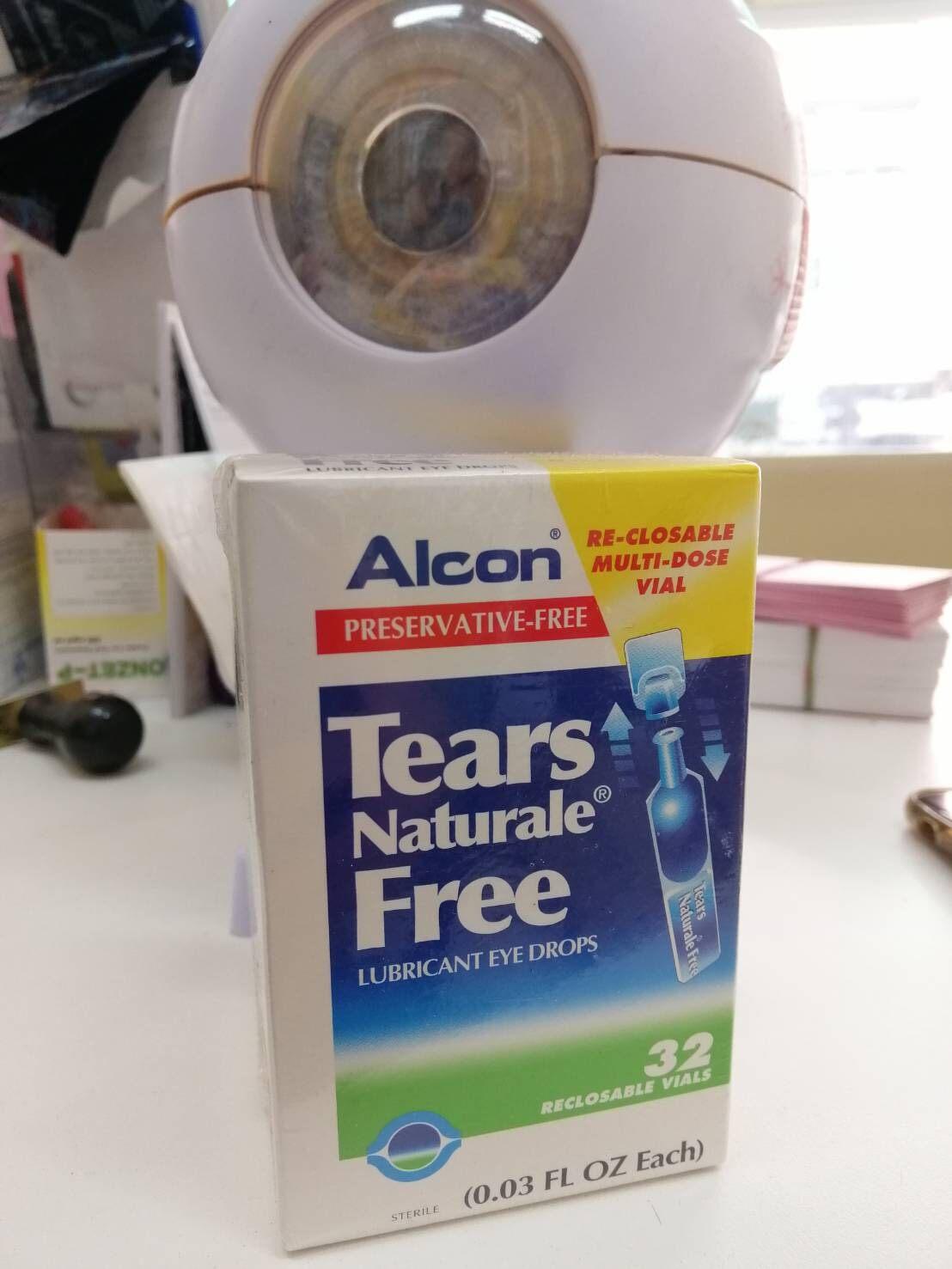 Alcon Tear รายวัน 32 ชิ้น น้ำตาเทียม เทีย นาเชอรัล.