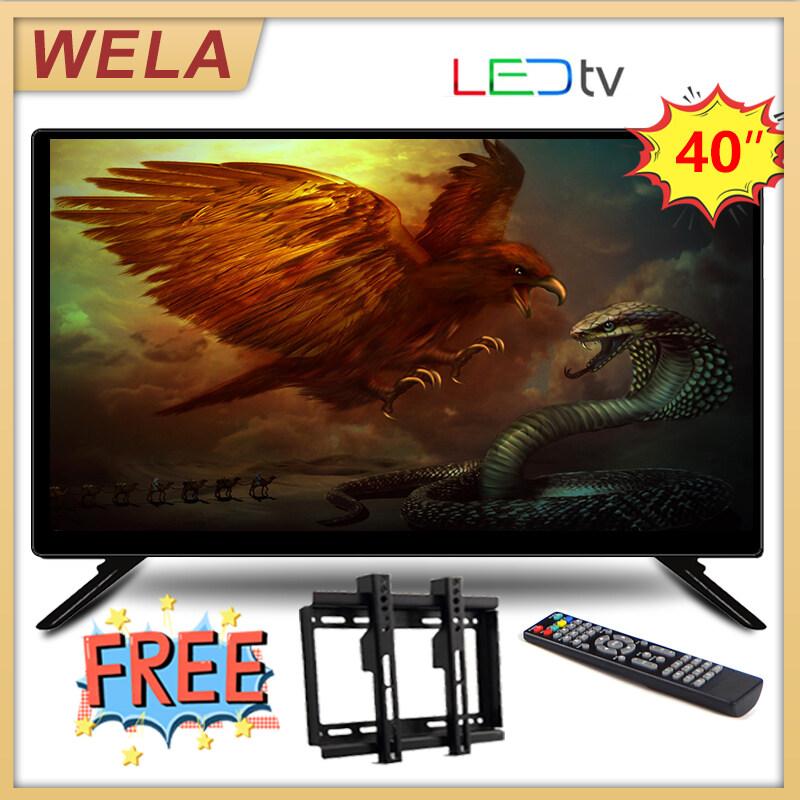 ทีวีอะนาล็อกหน้าจอ Led 40 นิ้วความละเอียด 1366 * 768 การเชื่อมต่อพอร์ต Hdmi X 2 พอร์ต Usb X 2 สัญญาณ Vga X 1 พอร์ต Av X 2 แขวนผนังฟรี.