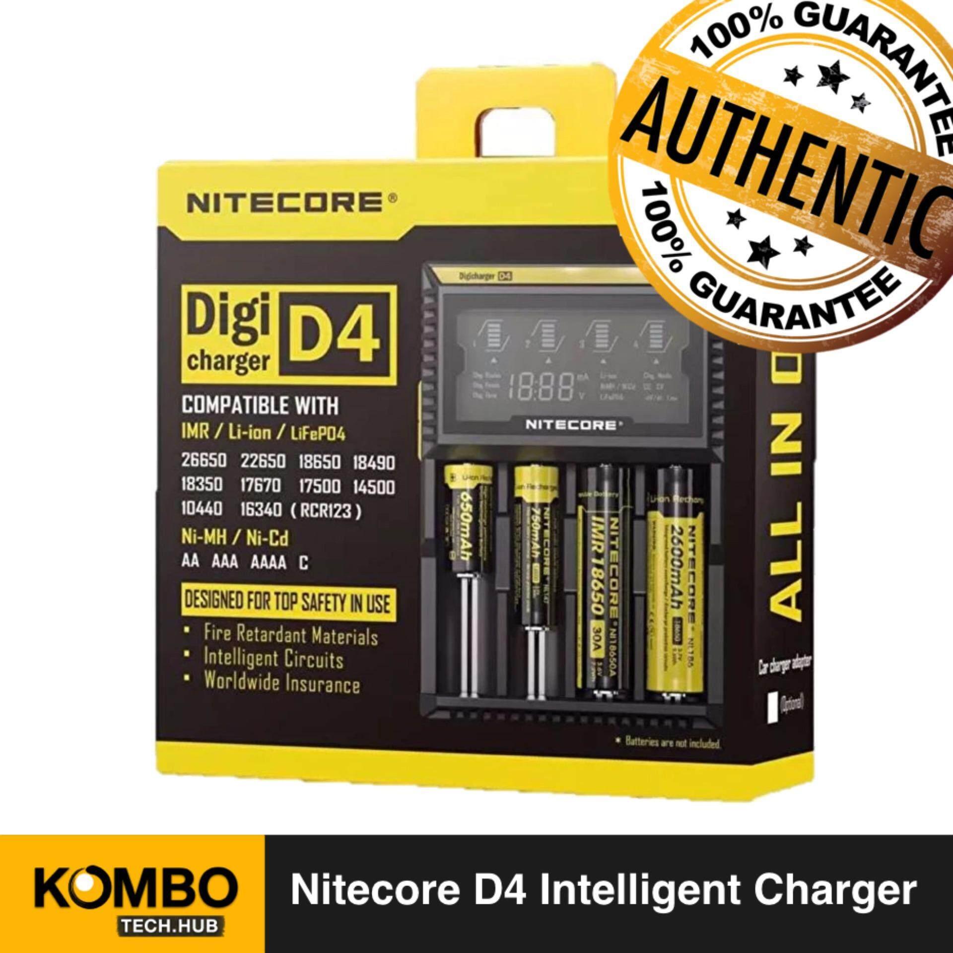 For Li-ion Li-fe Ni-MH Ni-CD AA AAA 18650 Battery 4-Slot BTY-V407 Smart Charger