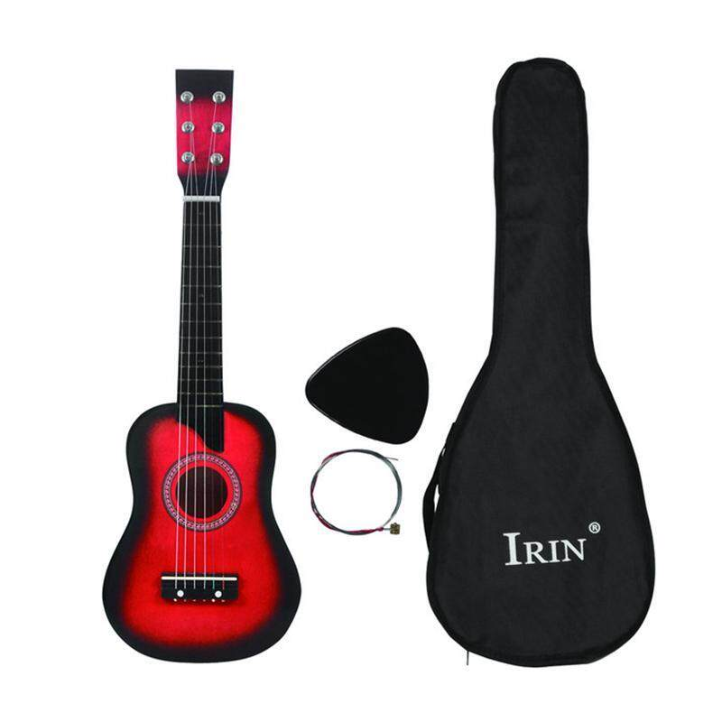 IRIN Mini 25 Inch Basswood Acoustic 12 Frets 6 Strings Guitar with Pick and Strings for Children Malaysia