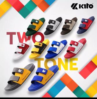 Kito Move TwoTone KITO AH81 ส่งไวมาก รองเท้าแตะกีโต้ (ทูโทน) ไซด์ 36-45 มาใหม่ รองเท้าแตะ ชาย/หญิง  ของแท้มากๆ 100% ค่าส่งตามจริงไม่โกงง ส่งจริงไม่โกหก Sale
