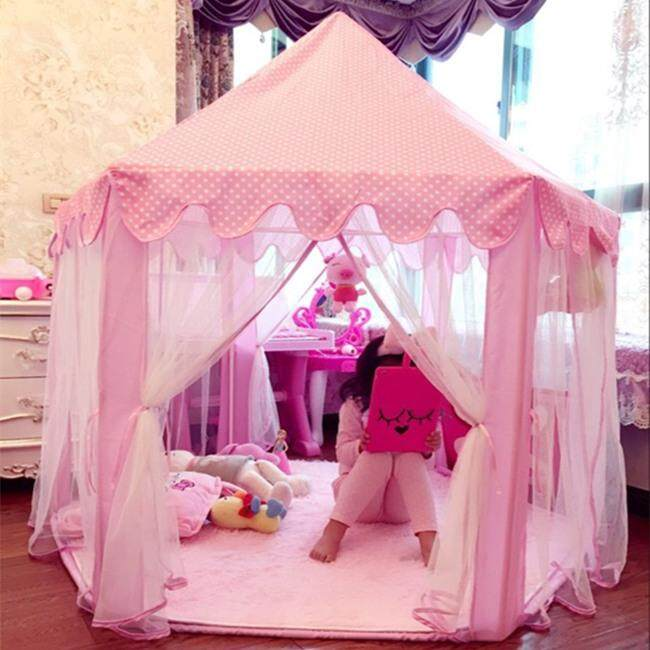 Korean Plus Size Six-Corner Tent For Children By Taobao Collection.