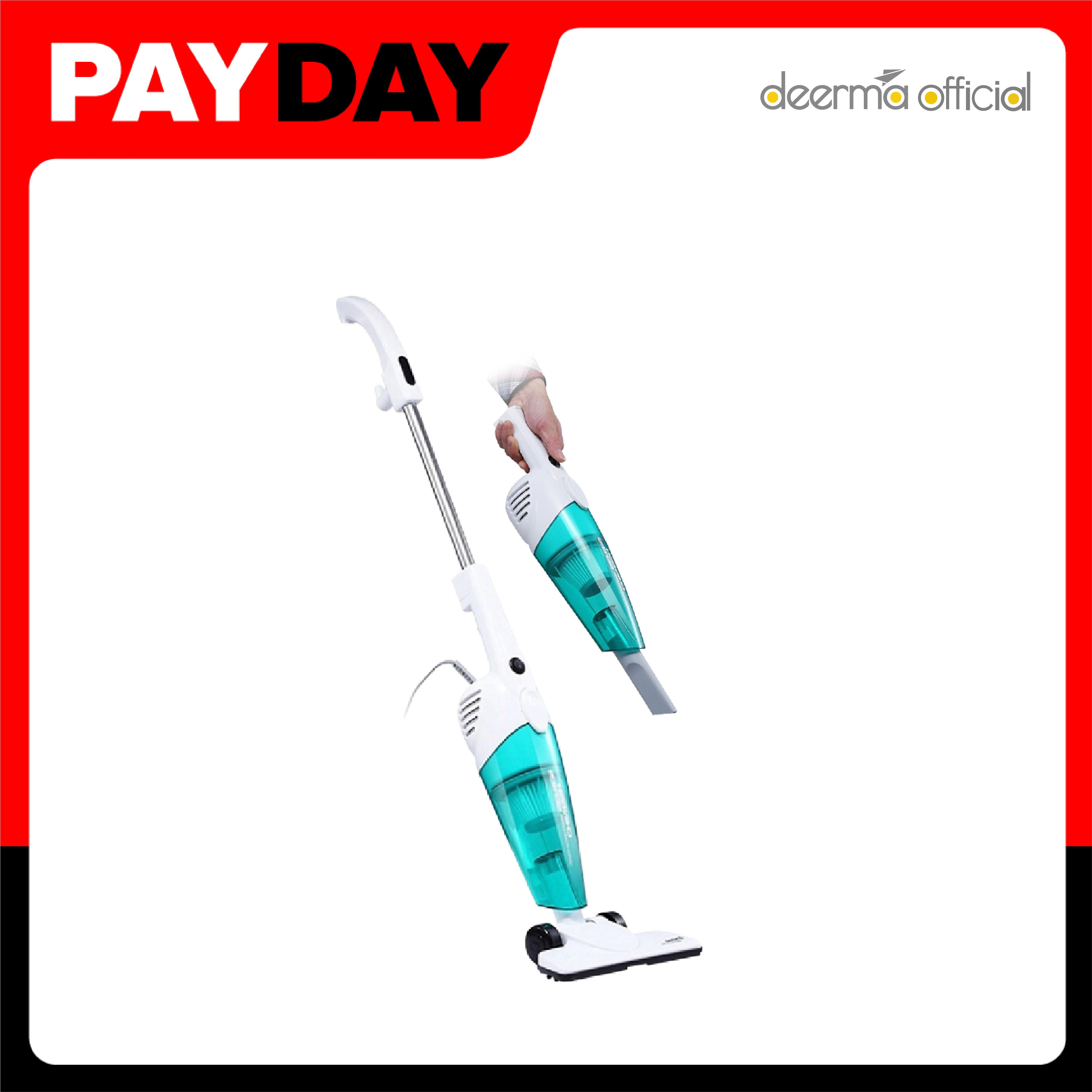 Deerma Electric Vacuum Cleaner Dx118c Easy To Use Handle Changing Head Vacuum Cleaner For Home Use [warranty 1 Year ].