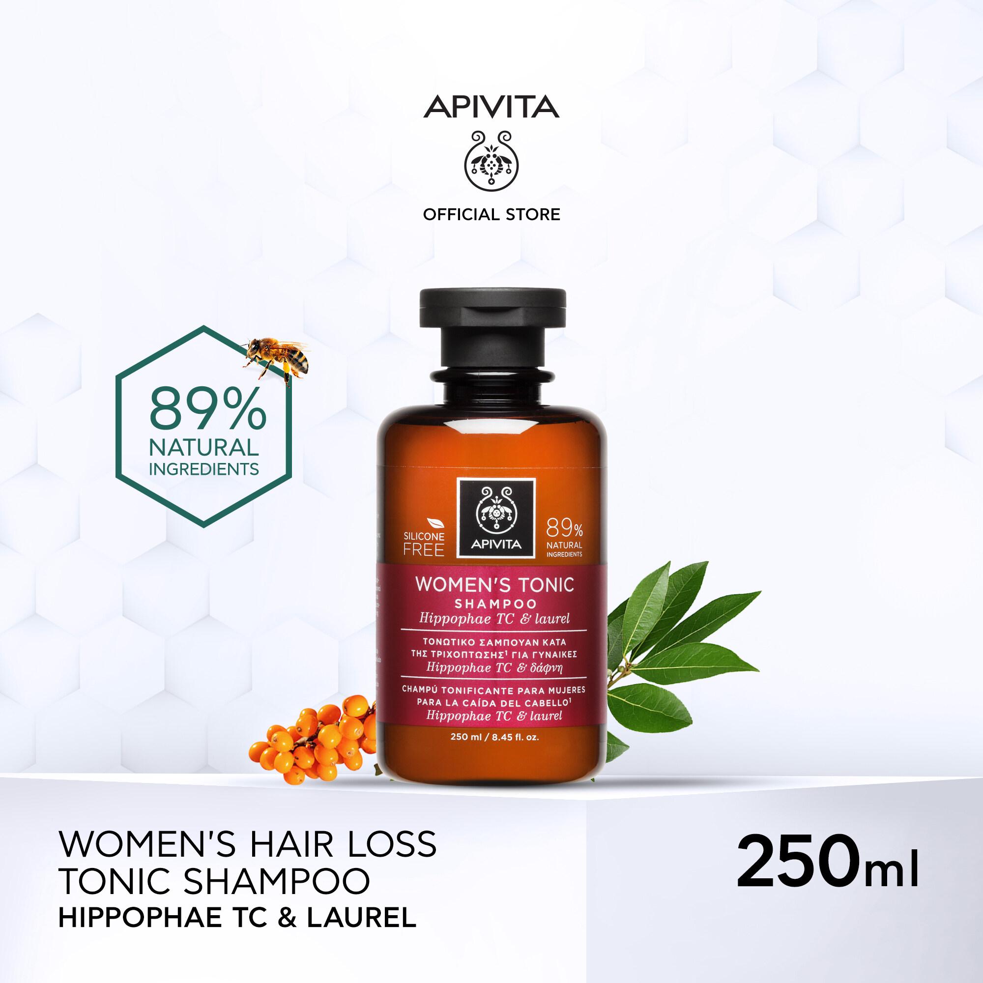 Apivita Womens Tonic Shampoo Hippophae Tc & Laural 250ml อะพิวิต้า วีเมน โทนิค แชมพู ฮิปโพรเพ ทีซี แอนด์ ลอเรล 250 มล..