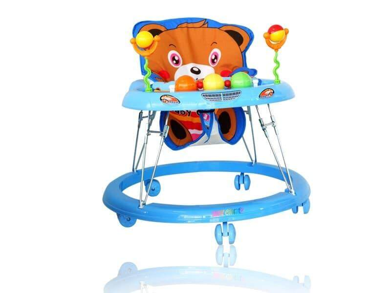 Dekdeebaby รถหัดเดิน หน้าหมี Teddy มีเสียงดนตรี