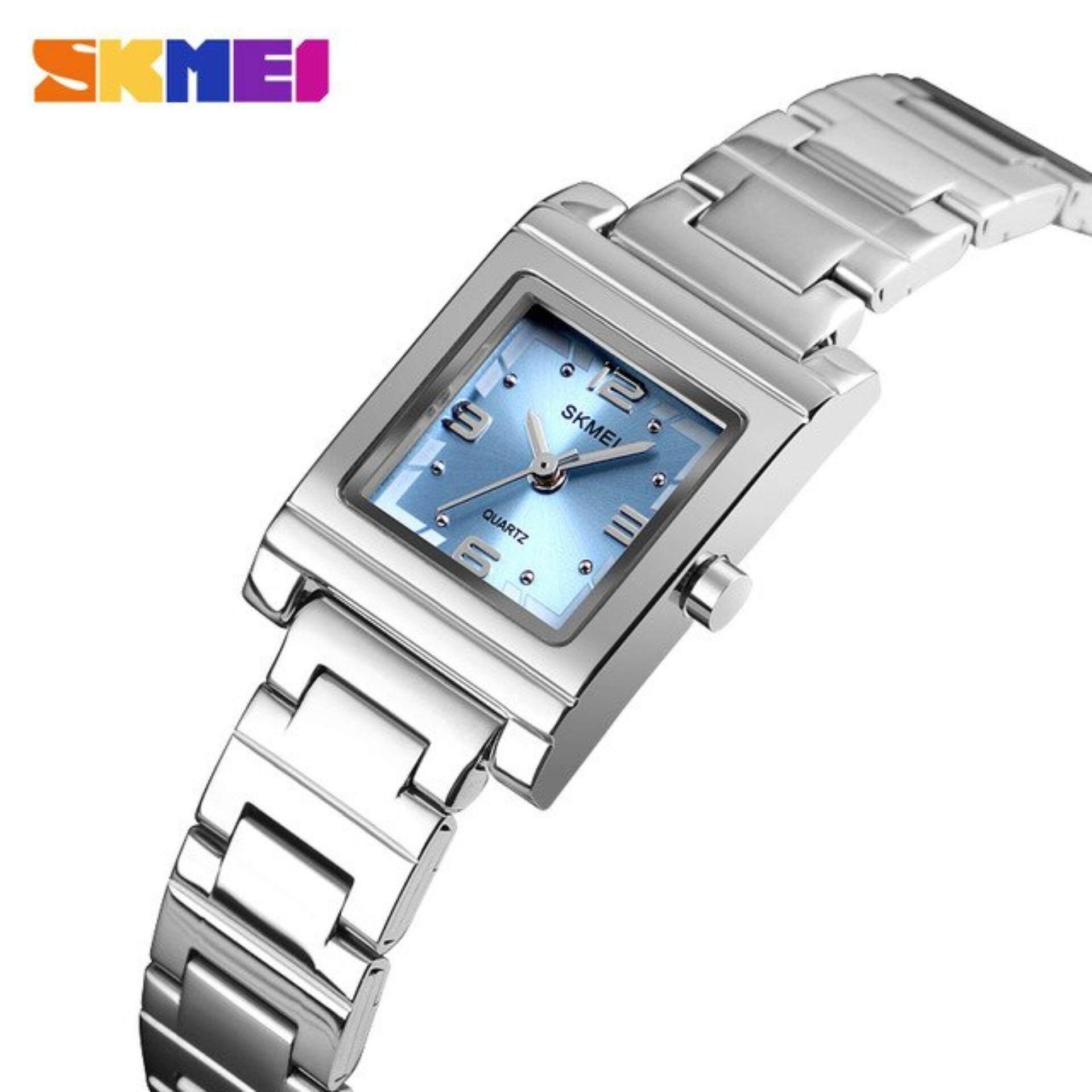 Skmei 1388 นาฬิกาข้อมือผู้หญิง ข้อมือระบบดิจิตอล แฟชั่น ราคาถูก สวยๆ สุภาพสตรี ระบบกันน้ำ ของแท้ 100% (ส่งไว 1-2 วัน) รุ่น Skmei19.
