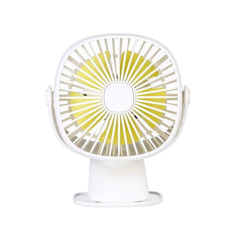 Bảng giá Portable USB Fan with Night Lamp 2 Speed Desktop Clip Fan Air Cooling Rechargeable for Office Home Phong Vũ